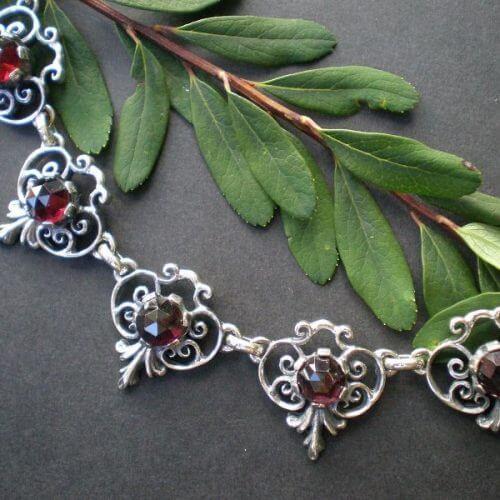 Trachtenkette Silber Berta