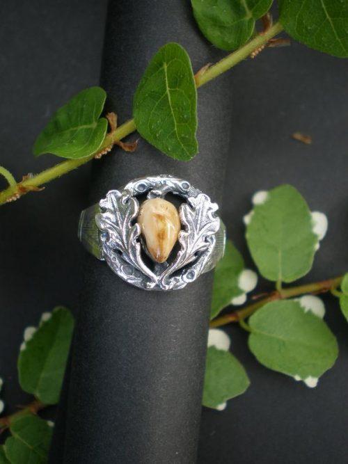 Jagd - und Grandelschmuck Ring Huberta