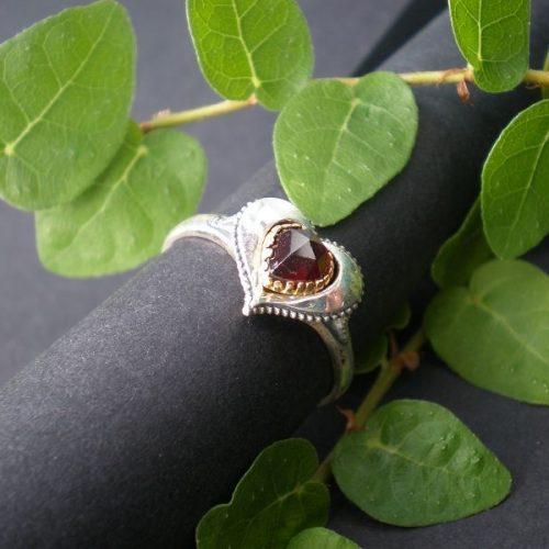 Trachtenschmuck Ring Herz