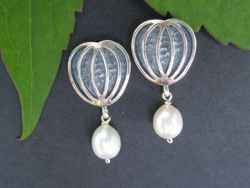 Ohrstecker Sabine mit Perlen