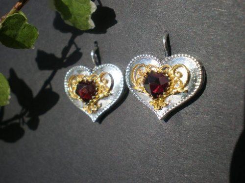 Trachten Ohrringe Herz