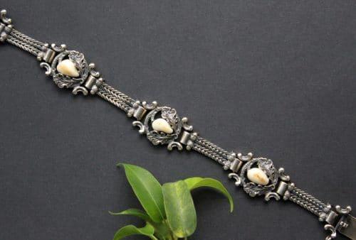 Silbernes Grandelschmuck Armband