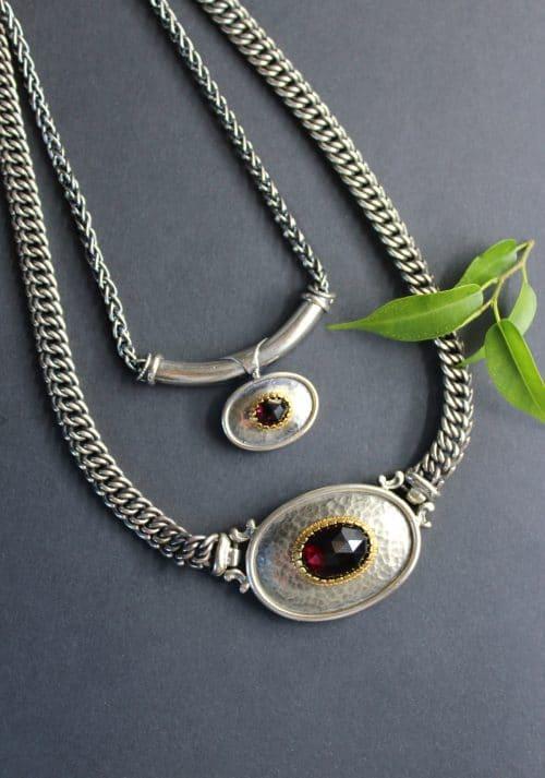 Trachtenschmuck Halskette Mariella Groß und Klein
