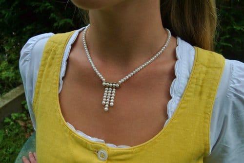 Perlenkette Lea DIrndlschmuck