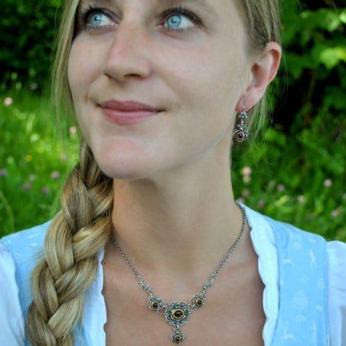 Trachtenkette silber Anna
