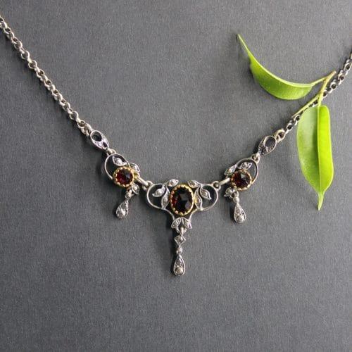 Trachtenschmuck Silberkette Dagmar