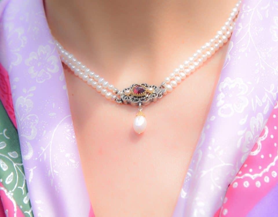 Perlenkette der Narzissenhoheit