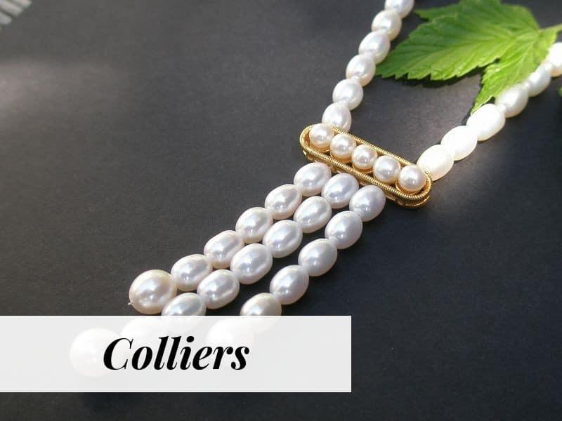 Ring mit Perlen