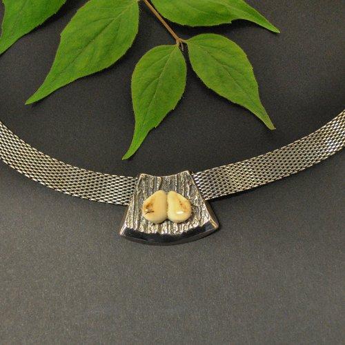 Grandelschmuck Kette aus Silber