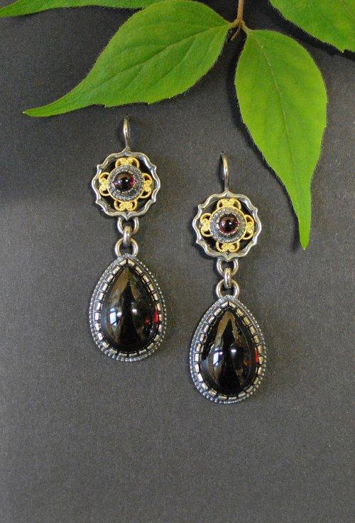 Trachtenschmuck Ohrringe aus Silber