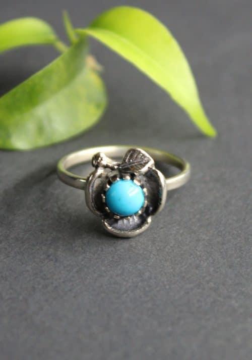 Kleiner Trachtenschmuck Ring in Silber