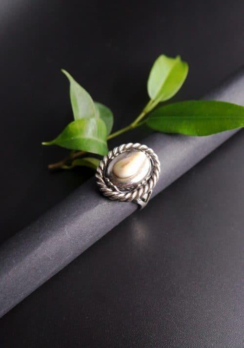 Silberner Grandlschmuck Ring