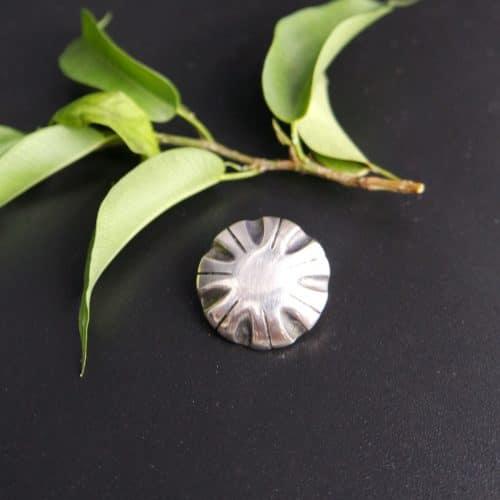 Trachtenknopf aus Silber für Männer
