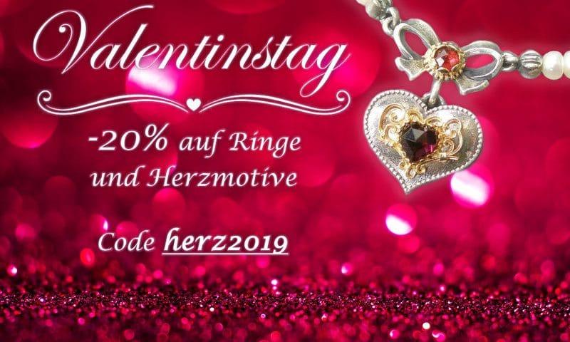 -20% Valentinstagsaktion