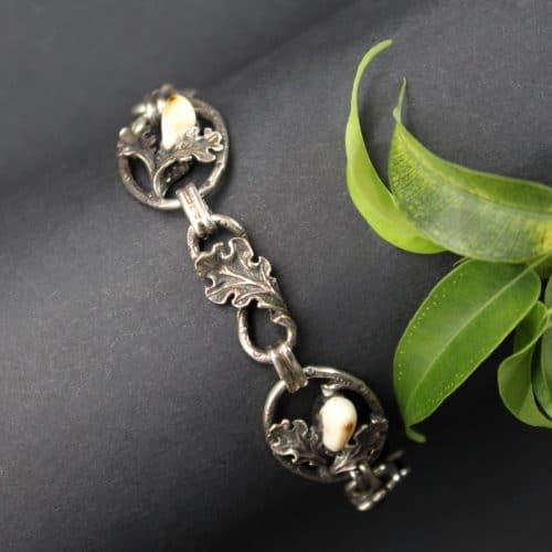 Jagdschmuck Trachtenschmuck Armband in Silber