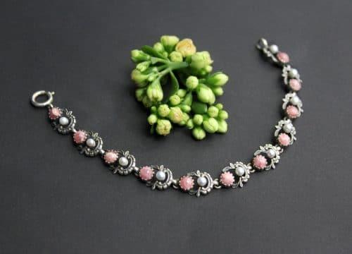 Trachtenschmuck Armband rosa