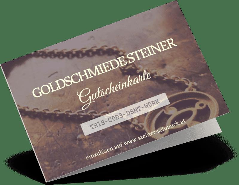 Schmuck Steiner Gutscheinkarte