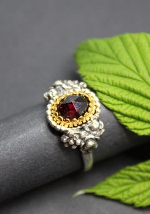 Traditioneller Trachtenschmuck Ring in Silber