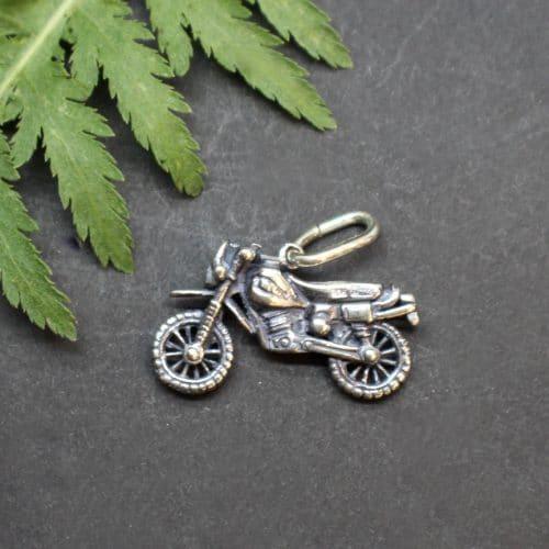 Schmuckanhänger Motorroad für Uhrkette oder Halskette