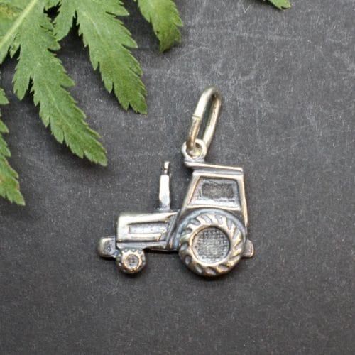 Schmuckanhänger Traktor für Uhrkette oder Halskette