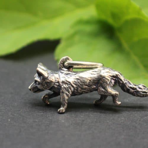Kleiner Fuchs Schmuckanhänger für Uhrkette