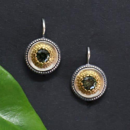 Trachtenschmuck Ohrringe Grün